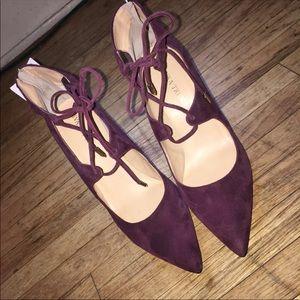 💎🆕NWOT Ivanka suede shoes